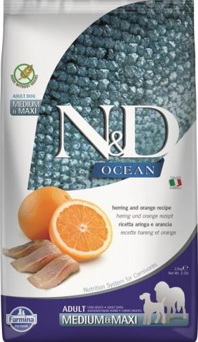 N&D Ocean Dog Herring and Orange Adult Medium & Maxi